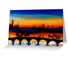 Lovers of London Greeting Card