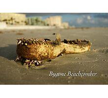 Bygone Beachcomber Photographic Print