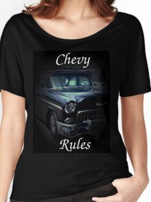 T - Chevy Rules Women's Relaxed Fit T-Shirt