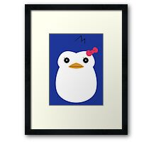 Mawaru Penguindrum - Penguin no. 3 Framed Print
