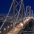 San Francisco Bay Bridge by Victor He
