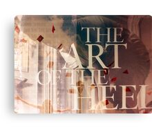 Art of the Heel Canvas Print