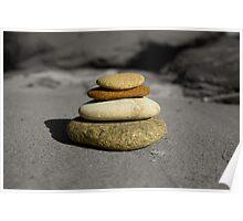 stack of rocks Poster