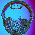 """mirrorball headphones"" by Christopher Common"