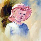 Portrait of Anneke by Pieter  Zaadstra