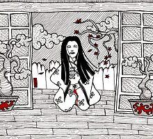 Geisha Sepuuku by Octavio Velazquez