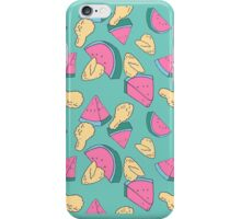 Fried Chicken and Watermelon iPhone Case/Skin