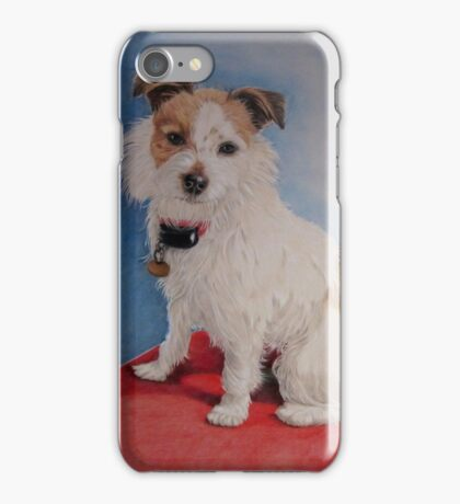 Peppa the rough coat terrier iPhone Case/Skin