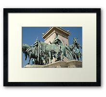 The Horsemen Framed Print