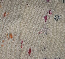 White Knit Rainbow Flecks by silverdragon