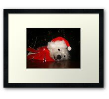 Awaiting Christmas Framed Print