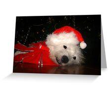 Awaiting Christmas Greeting Card