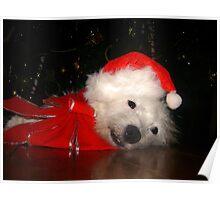 Awaiting Christmas Poster