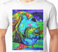 Angel Fish Swimming in the Sea Unisex T-Shirt