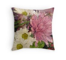 Spring Flowers Series Throw Pillow