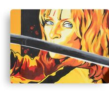 Kill Bill: The Bride Canvas Print