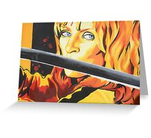 Kill Bill: The Bride Greeting Card