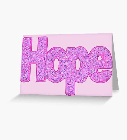 """Hope"" Greeting Card"