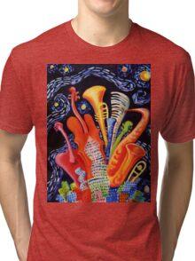 JAZZ CITY Tri-blend T-Shirt