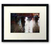 umbrella time Framed Print