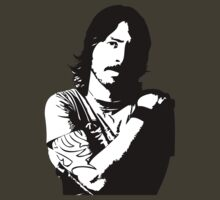 The King of Rock 'n' Grohl w/white