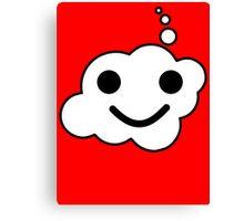Smiling Minifig Face, Bubble-Tees.com Canvas Print
