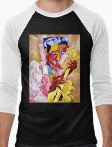YELLOW GUITAR Men's Baseball ¾ T-Shirt