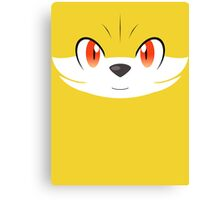 Pokemon - Fennekin / Fokko Canvas Print