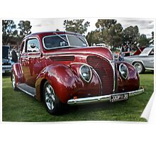 Ford 1938 Coupe Poster