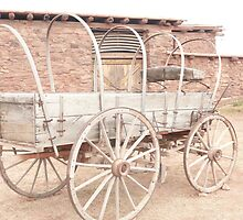 An Old Uncovered Wagon. by Mywildscapepics