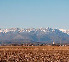 Winter Rural Panarama  by jojobob