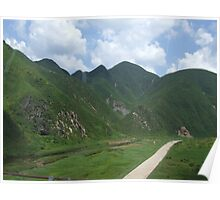 an incredible North Korea landscape Poster