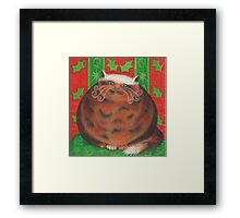 Christmas Pud Framed Print
