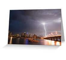 Passing Storm Greeting Card