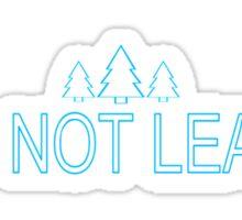 Wayward Pines v4 Sticker