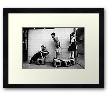 Good luck for you everyday Framed Print