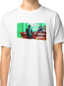 Who is the Balloon Suited Man? A Graphic Novel Classic T-Shirt