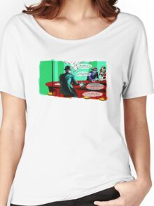 Who is the Balloon Suited Man? A Graphic Novel Women's Relaxed Fit T-Shirt