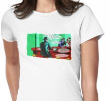 Who is the Balloon Suited Man? A Graphic Novel Womens Fitted T-Shirt
