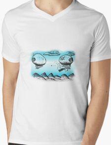 Blimps Ahoy!! Mens V-Neck T-Shirt