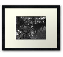 A Christmas In Hunt Valley Framed Print