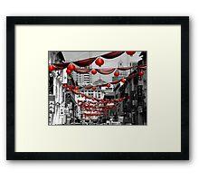 Chinatown, Singapore Framed Print