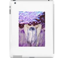 Psychedelic Purple Grunge iPad Case/Skin