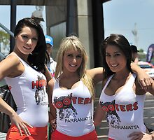 Three Hooters by Bill Fonseca