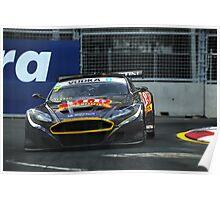 Tony Quinn - Aston Martin Poster