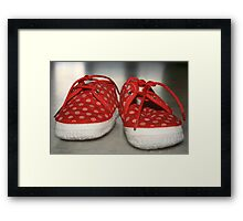 Little Boots Framed Print