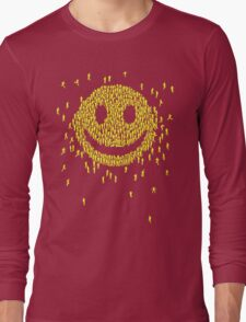 Happy Crowd Long Sleeve T-Shirt
