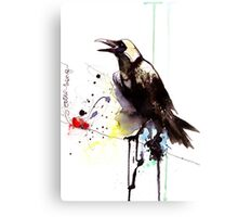 LoveSong of the Crrrow Canvas Print