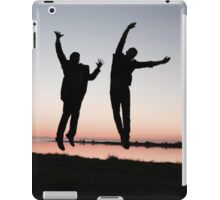 Cockles Sunset Jump iPad Case/Skin