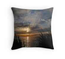 Gulf Coast Sky Throw Pillow